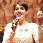 Get Anne Hathaway's Festive (and Cool) Outfit Pairing