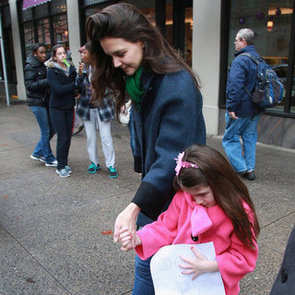 Katie Holmes Birthday Celebration With Suri | Pictures