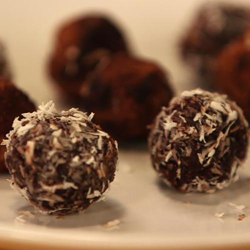 Healthy Raw Chocolate Truffle Recipe