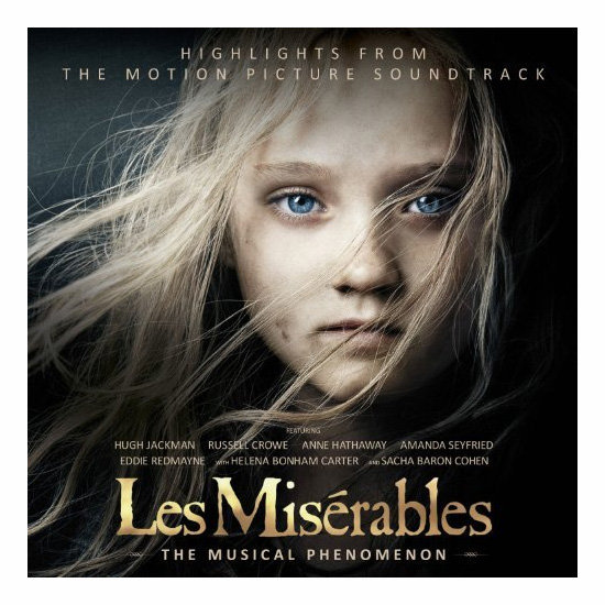 Les Misérables: Highlights From the Motion Picture Soundtrack, $21.99