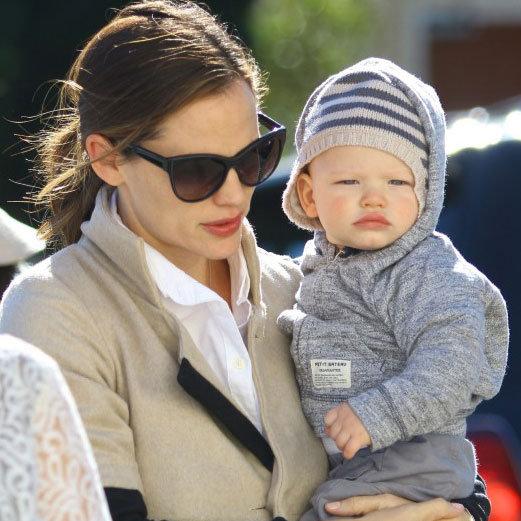 Jennifer Garner Shopping With Baby Samuel Affleck | Pictures
