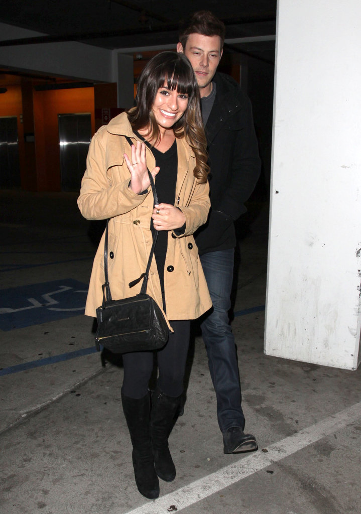 Lea and Cory Catch Ben Affleck's Latest During Movie Date