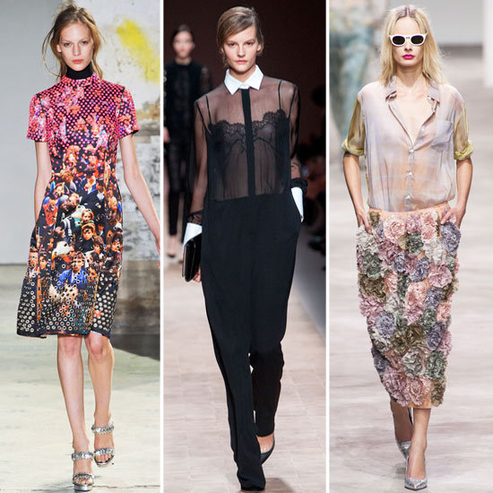 Now Trending: What Prints, Cuts and Shapes to Look For in 2013