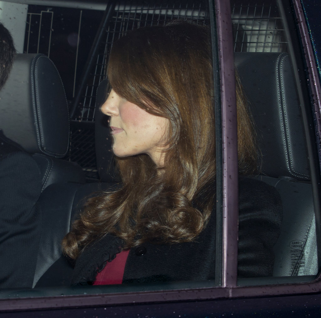 Kate Middleton got driven into Buckingham Palace.