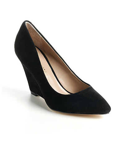 For a go-with-anything classic pump, look no further than these Pour La Victoire Mai Suede Wedge Pumps ($108-$180) — chic with a cleverly designed wedge that means you'll be comfortable dancing the night away.