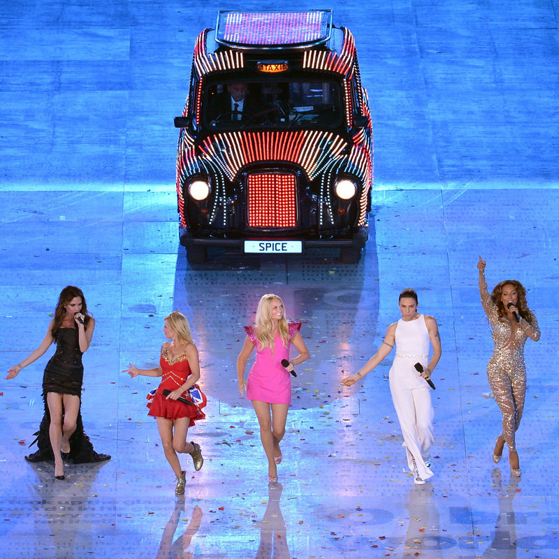The Spice Girls Reunion at the London Olympics