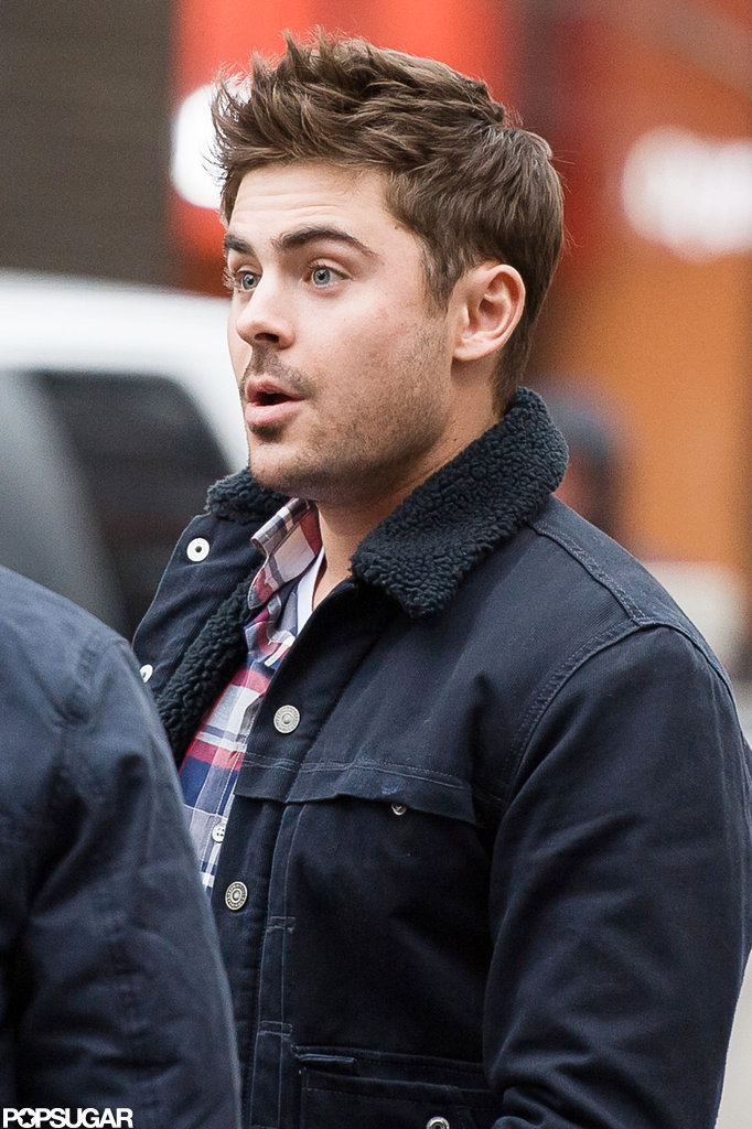 Zac Efron Films in NYC After Landing JFK Movie Role