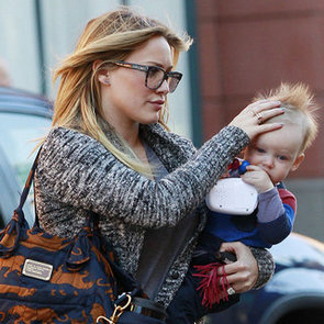 Hilary Duff With Baby Luca in Beverly Hills   Pictures