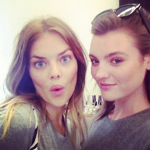 Beauty besties Samara Weaving and Montana Cox pulled faces at the camera — and still looked stunning! Source: Instagram user samweaving