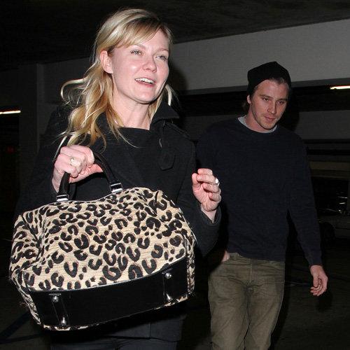 Kirsten Dunst and Garrett Hedlund's Movie Date | Pictures