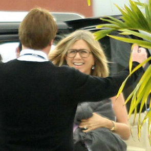 Jennifer Aniston and Justin Theroux Leave Cabo (Video)