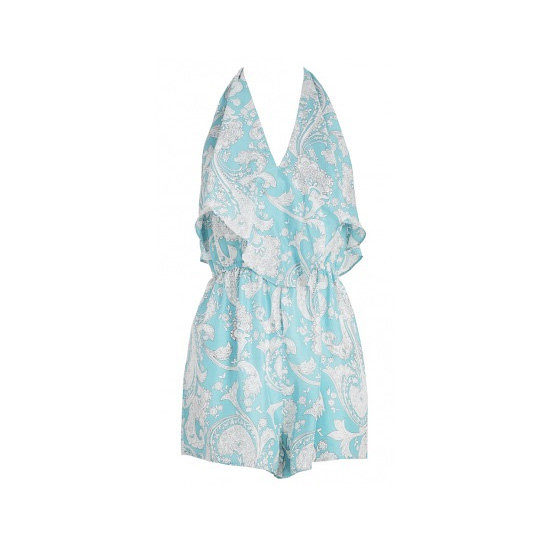 A Printed Playsuit