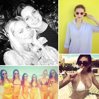 Celebrity Fashion & Beauty Instagram: Jaime King Lara Bingle