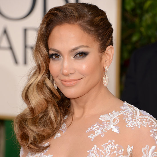 Jennifer Lopez | Golden Globes Hair 2013