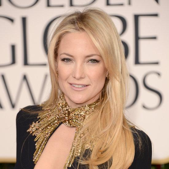 Kate Hudson | Golden Globes Hair and Makeup 2013