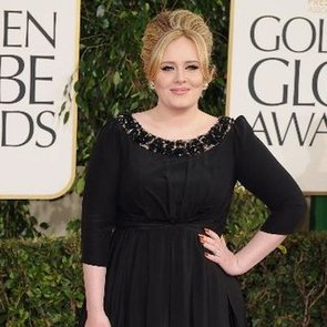 Adele Post-Baby Pictures at 2013 Golden Globes