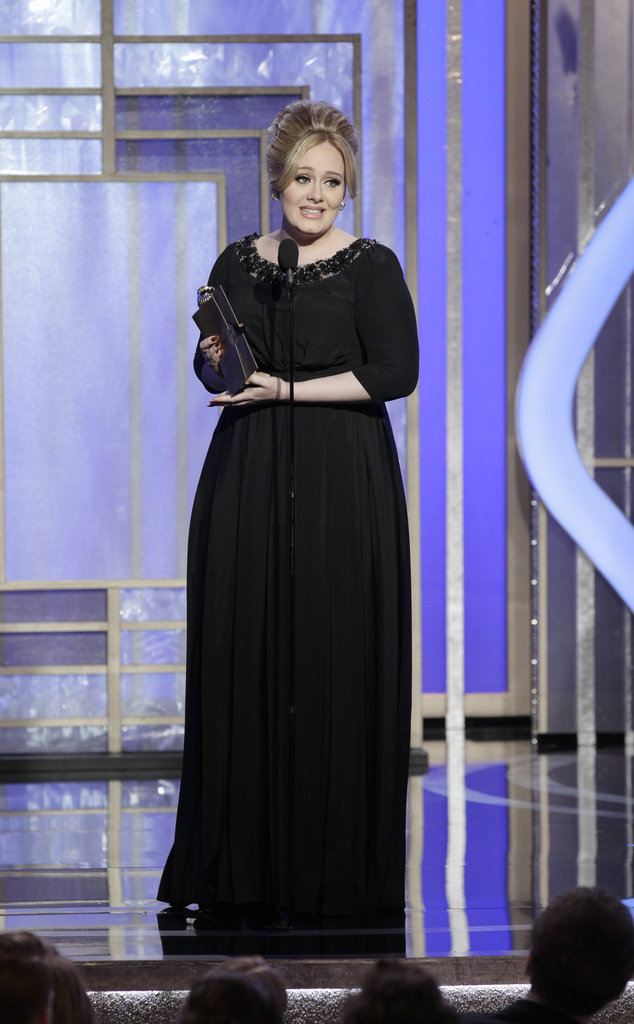 "Adele won best original song in a motion picture for ""Skyfall."""