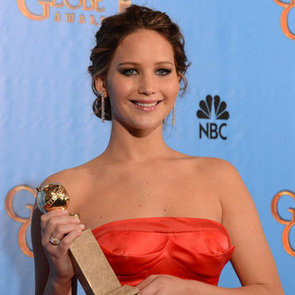 Jennifer Lawrence Golden Globe Awards Win Interview