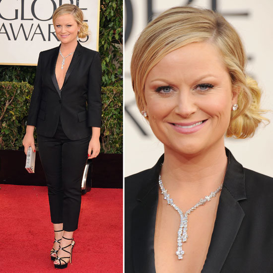 Amy Poehler | Golden Globes Red Carpet Fashion 2013