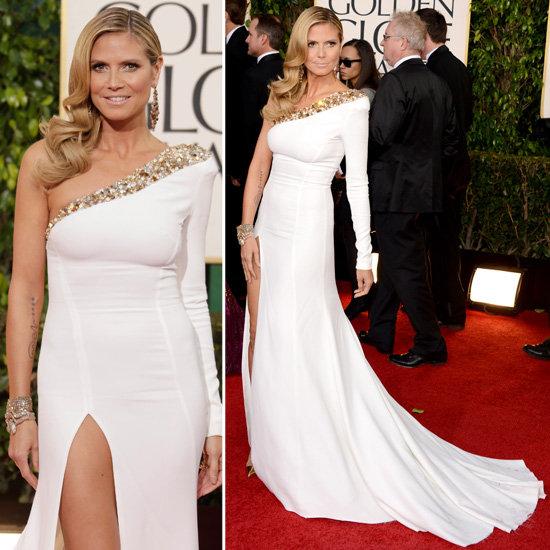 Heidi Klum   Golden Globes Red Carpet Fashion 2013