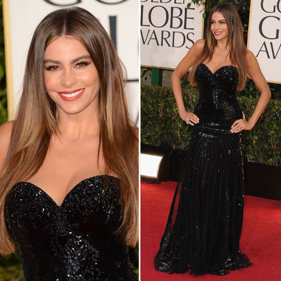Pictures of Sofia Vergara in 2013 Golden Globes