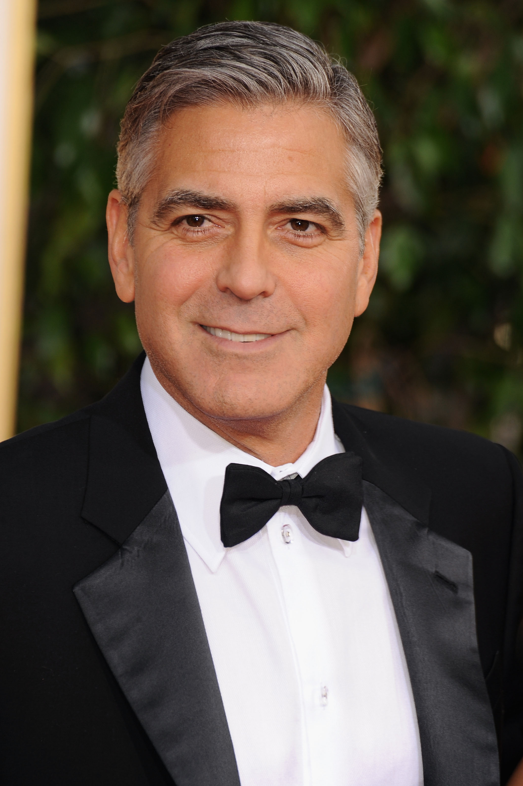 Now: George Clooney | Now and Then: Stars at the Golden Globes ...