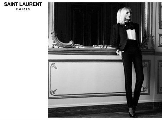 Photo courtesy of Saint Laurent