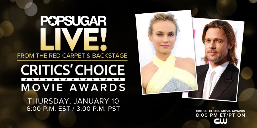 Join Us LIVE! From the Critics' Choice Awards Today!
