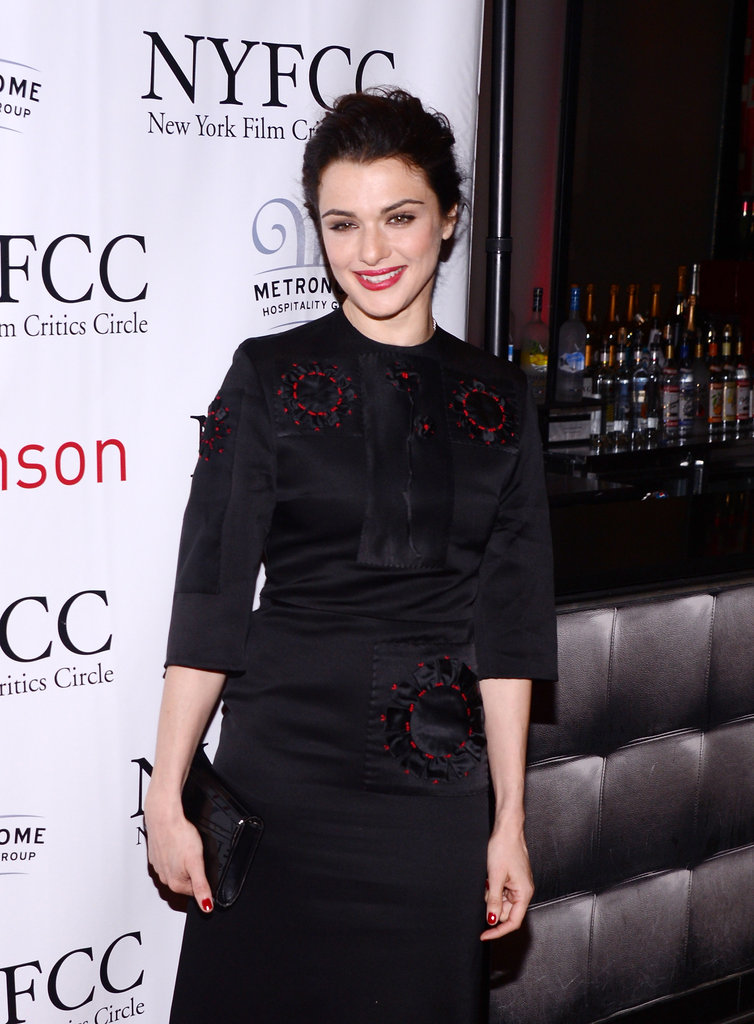 Rachel Weisz walked the red carpet.