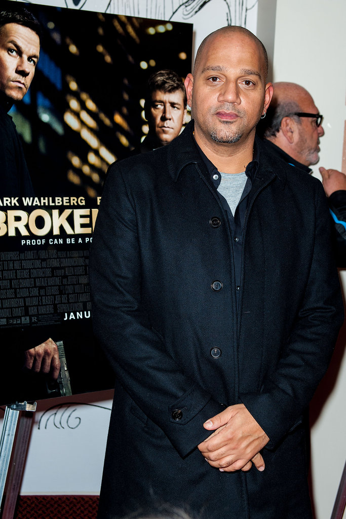 Director Allen Hughes was on hand to premiere Broken City with Mark Wahlberg in Philadelphia.