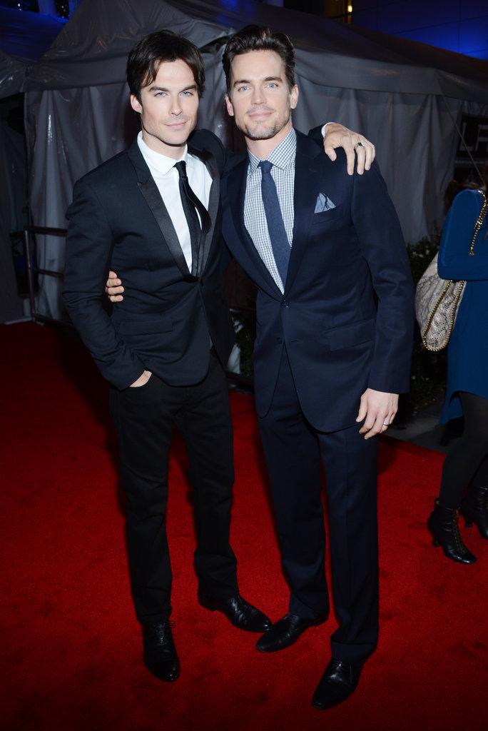 Photo of Matt Bomer & his friend  Ian Somerhalder