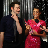 Lea Michele and Chris Colfer People's Choice Awards Video