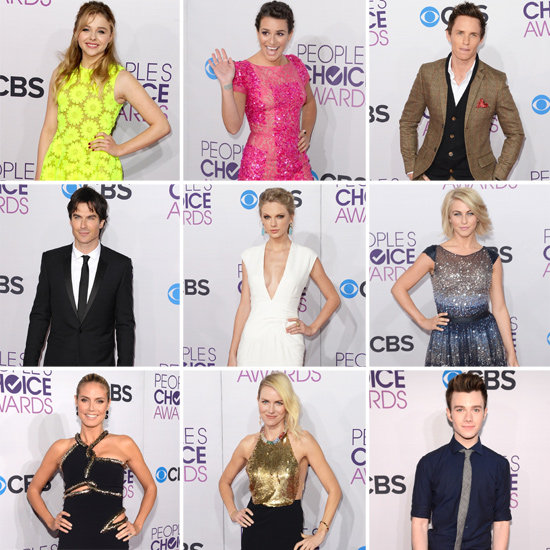 See All the Stars Arriving on the People's Choice Awards Red Carpet