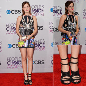 Emma Watson at People's Choice Awards 2013