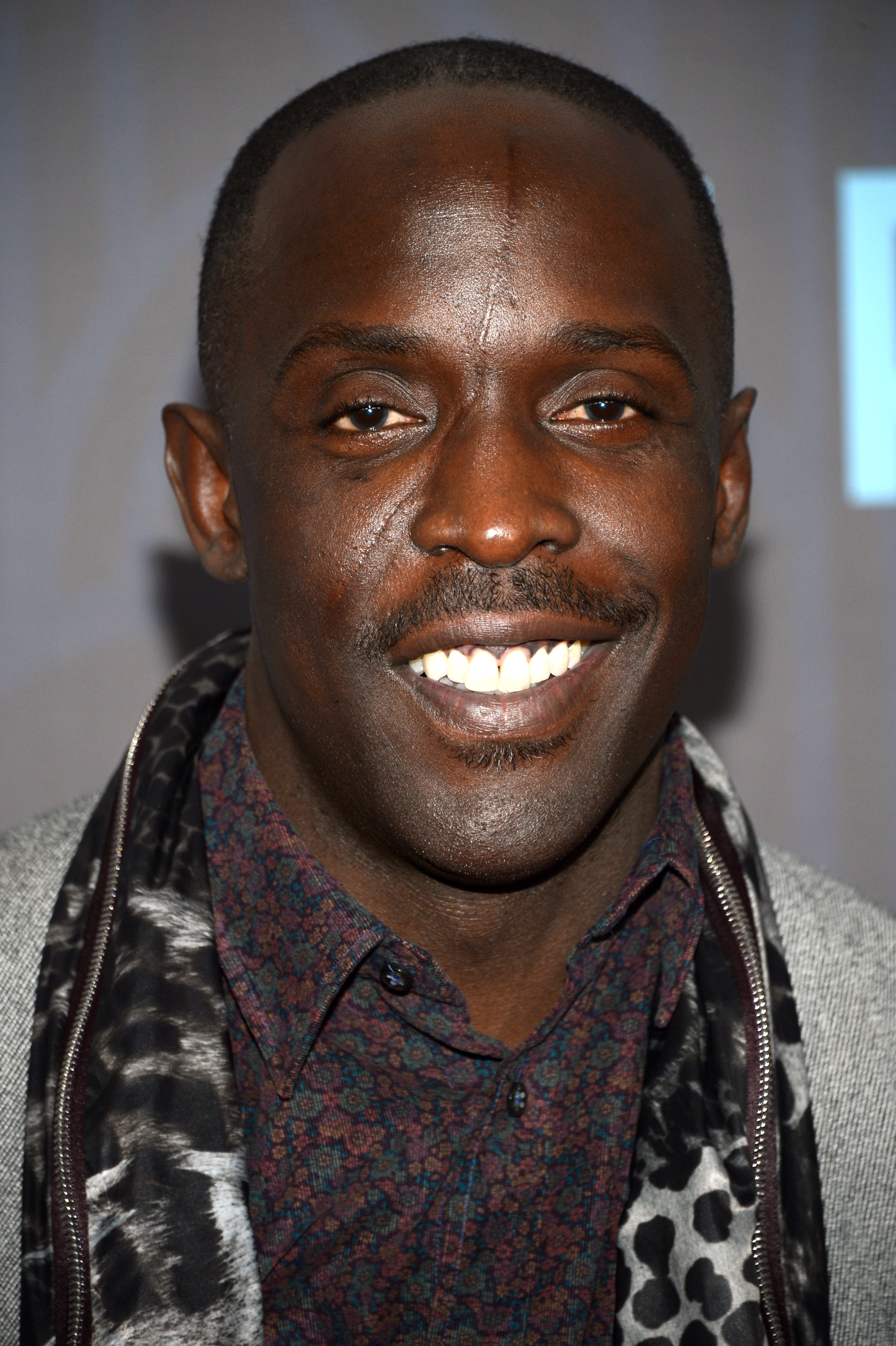 Michael K. Williams Michael K Williams walked the