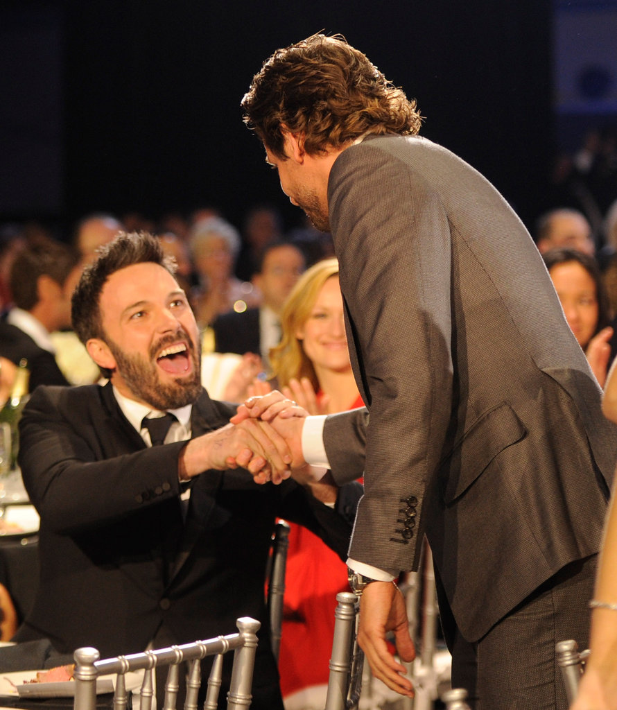 Bradley Cooper Makes the Rounds With Ben, Jennifer and More at Critics' Choice