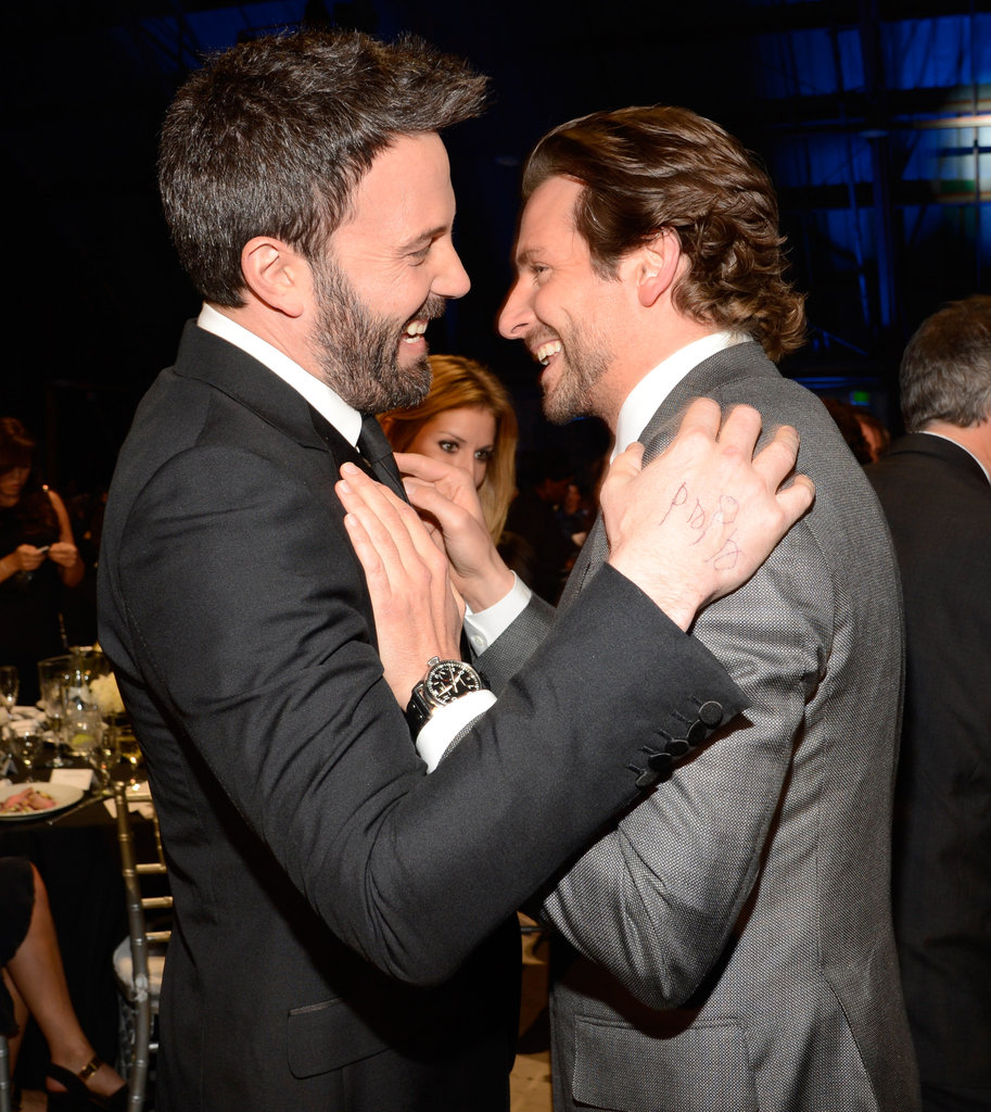 Bradley Cooper and Ben Affleck shared a moment at the Critics' Choice Awards.