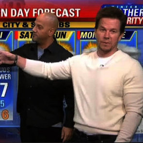 Mark Wahlberg Does the Weather (Video)