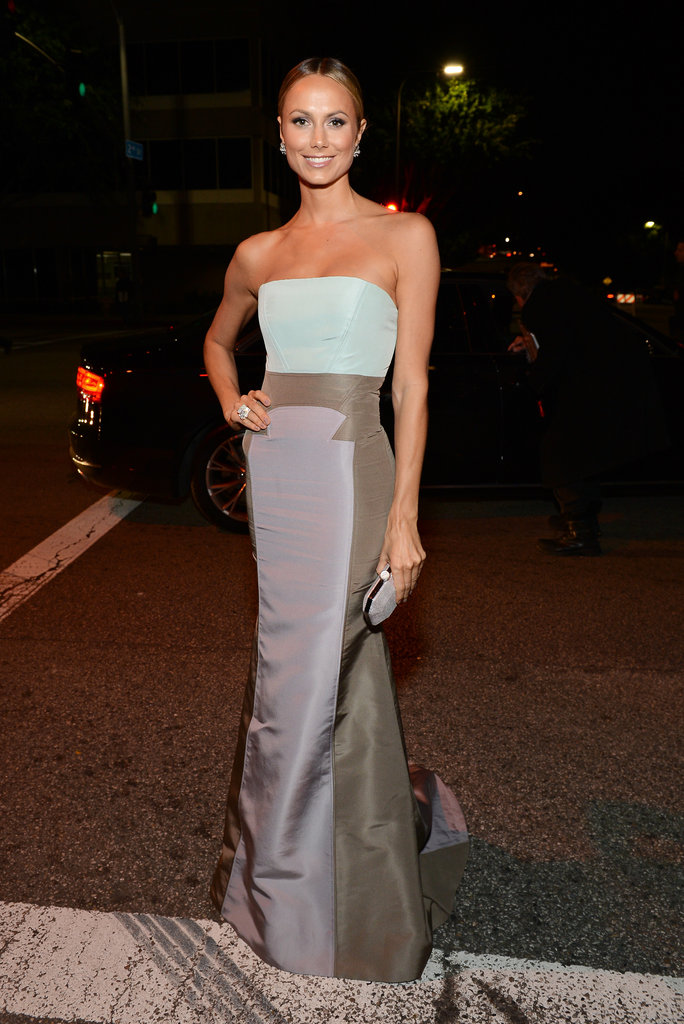Stacy Keibler attended The Art of Elysium's sixth annual Heaven gala.