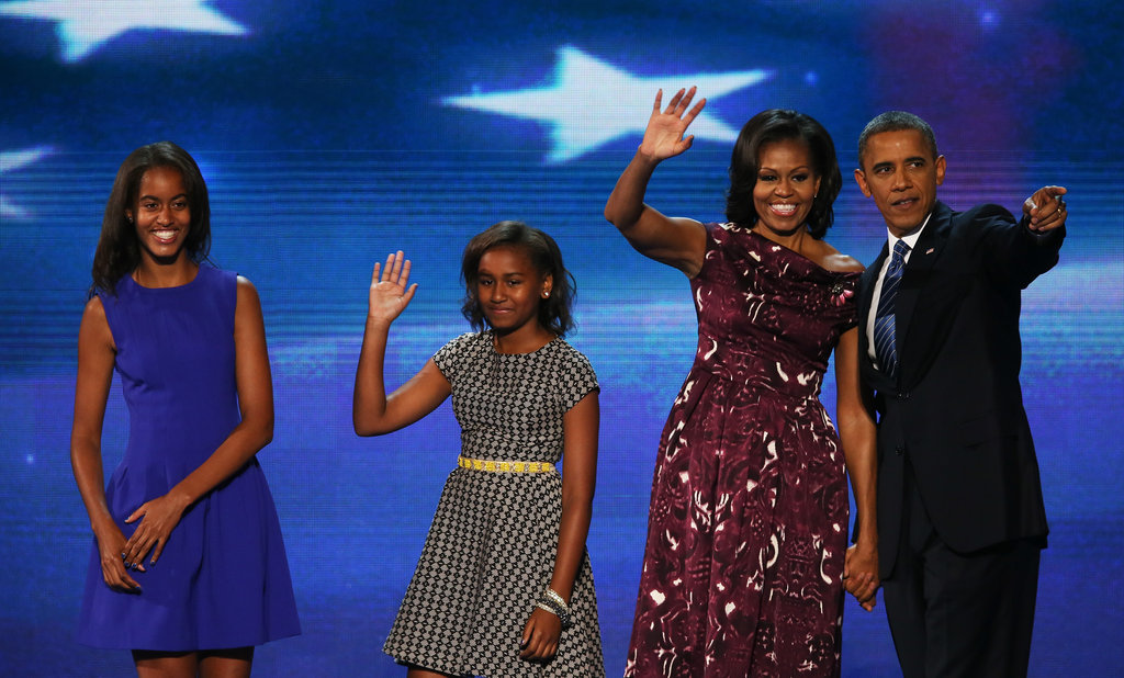 At the Democratic National Convention, September 2012