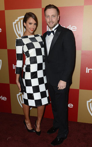 Jessica Alba met up with InStyle's Ariel Foxman.