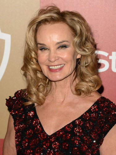 Jessica Lange smiled at the InStyle after party.