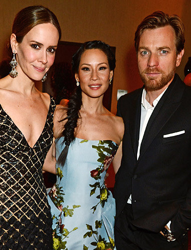 Sarah Paulson, Lucy Liu and Ewan McGregor