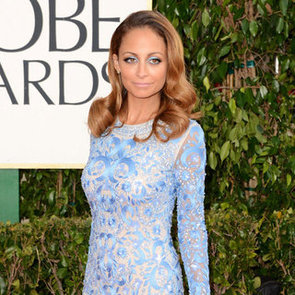 Nicole Richie Pictures in Naeem Khan at 2013 Golden Globes