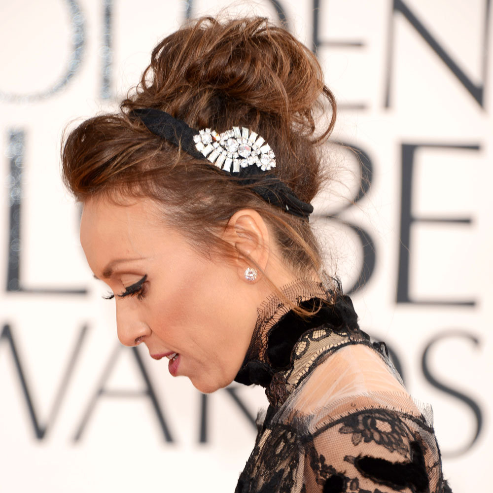 Pictures of Giuliana Rancic at the 2013 Golden Globes