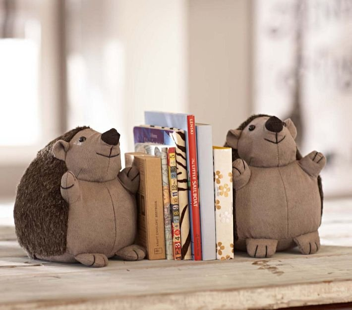 Hedgehog Bookends