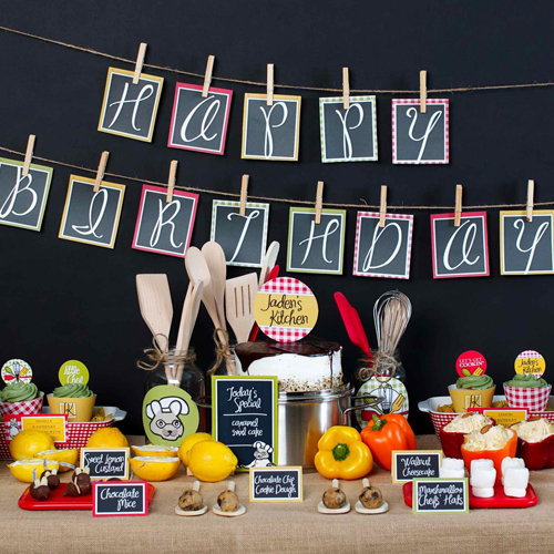 Cooking Birthday Party For Kids
