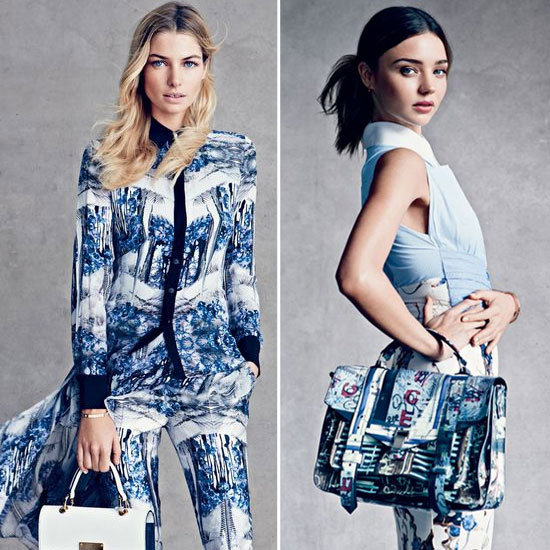 Miranda Kerr and Jessica Hart Star in US Vogue Shoot