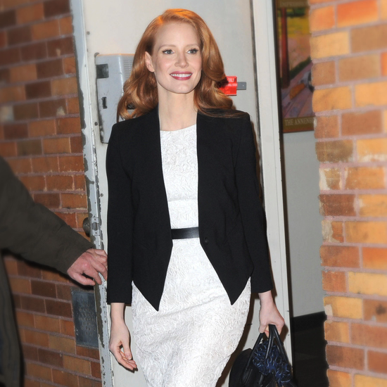 See How Jessica Chastain Effortlessly Styles Black and White