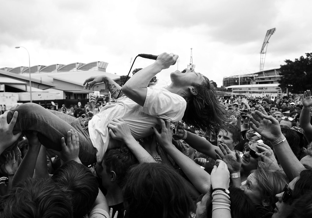 2012: Matt Shultz of Cage the Elephant
